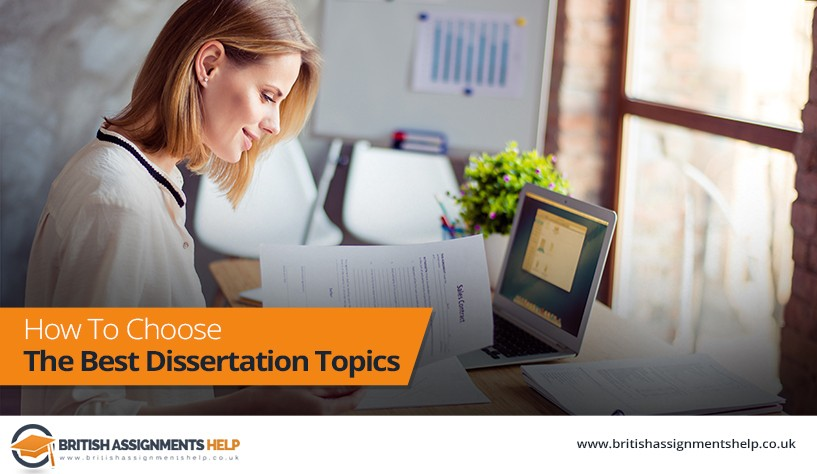 how to choose the best dissertation topics