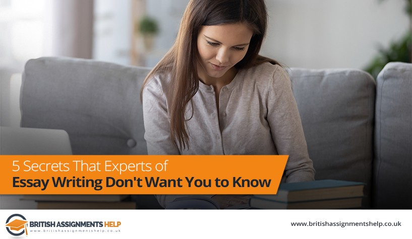 5 Secrets That Experts of Essay Writing Don't Want You to know